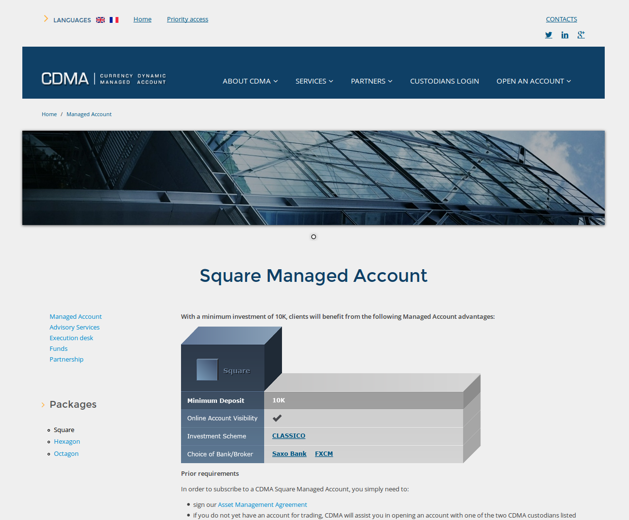 CDMA Square Account