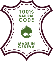 100% Natural code made in Geneva