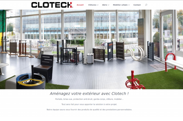 Clotech Homepage
