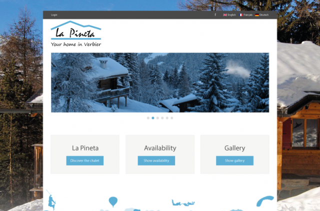 La Pineta homepage picture